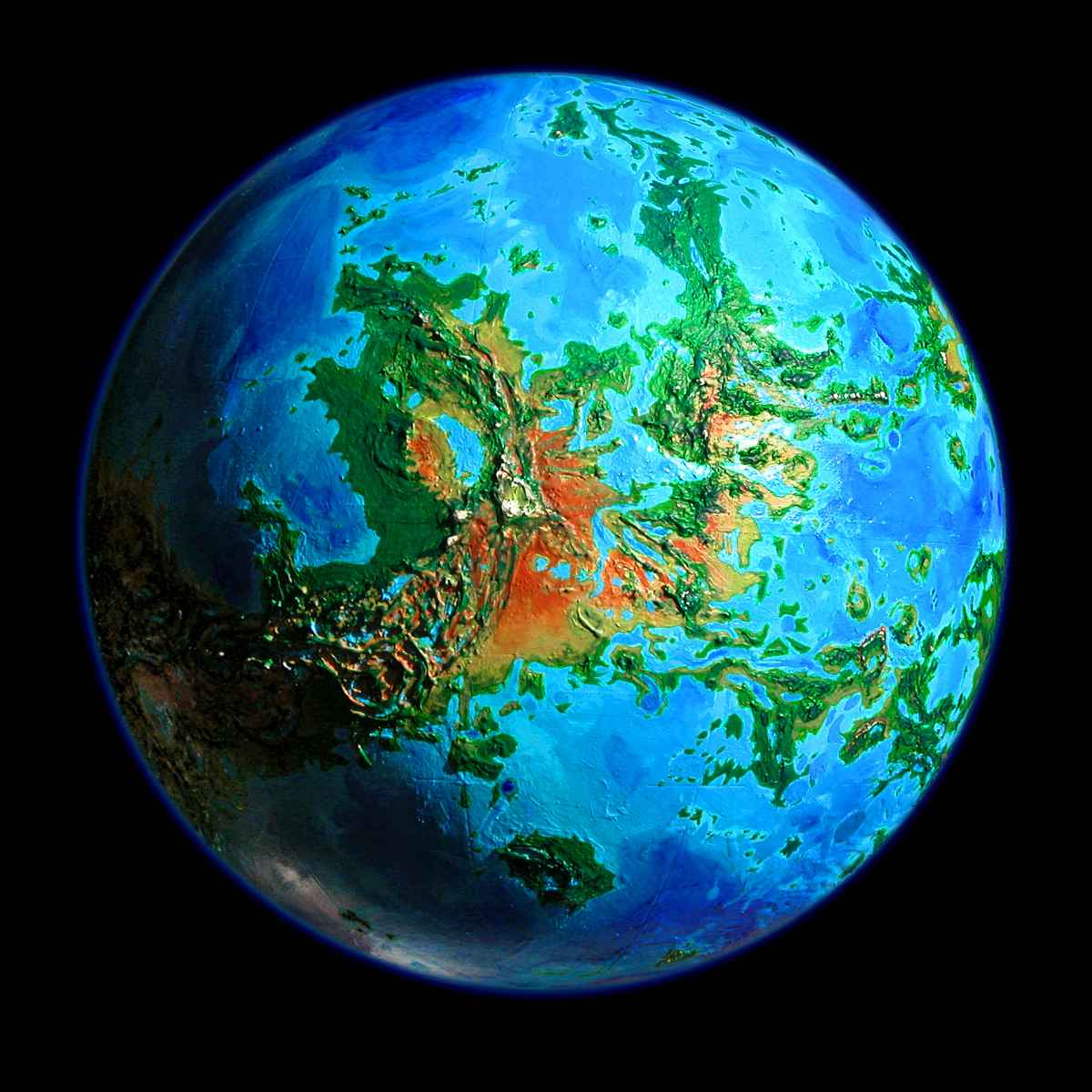 World Dream Bank: FUTURES: VENUS UNVEILED on map of a, map of all, map or,